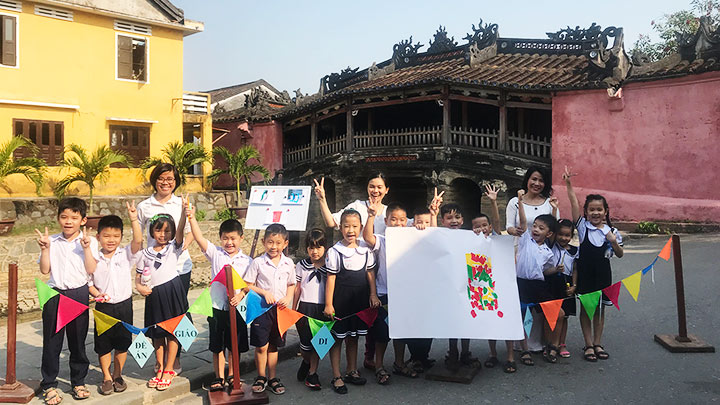 Bringing students to Hoi An heritage