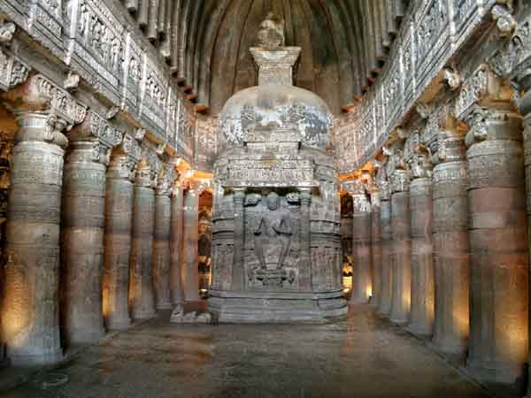 ajanta caves gettyimages